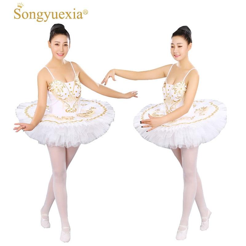Femme professionnel Ballet Tutu filles gymnastique danse robe adulte cygne lac Costume Ballet justaucorps pour femmes enfant Ballet robe