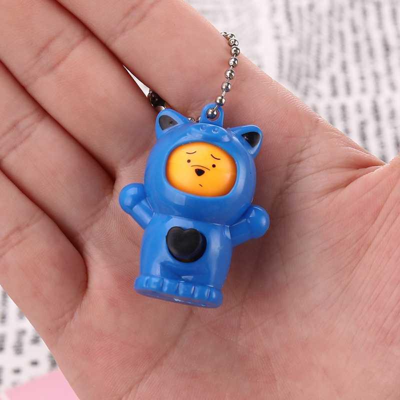 เปลี่ยน Face Expressions ตุ๊กตาน่ารักตลกเด็กของเล่นเด็ก Antistress Novelty Magic ของเล่นพวงกุญแจจี้ของขวัญ