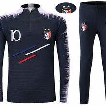 2018 World Cup Champion France Soccer Team 2 Stars Long Sleeve T-shirt  Mbappe  eeab45a58