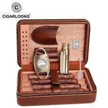 COHIBA Cigar Humidor Travel Portable Cigar box with