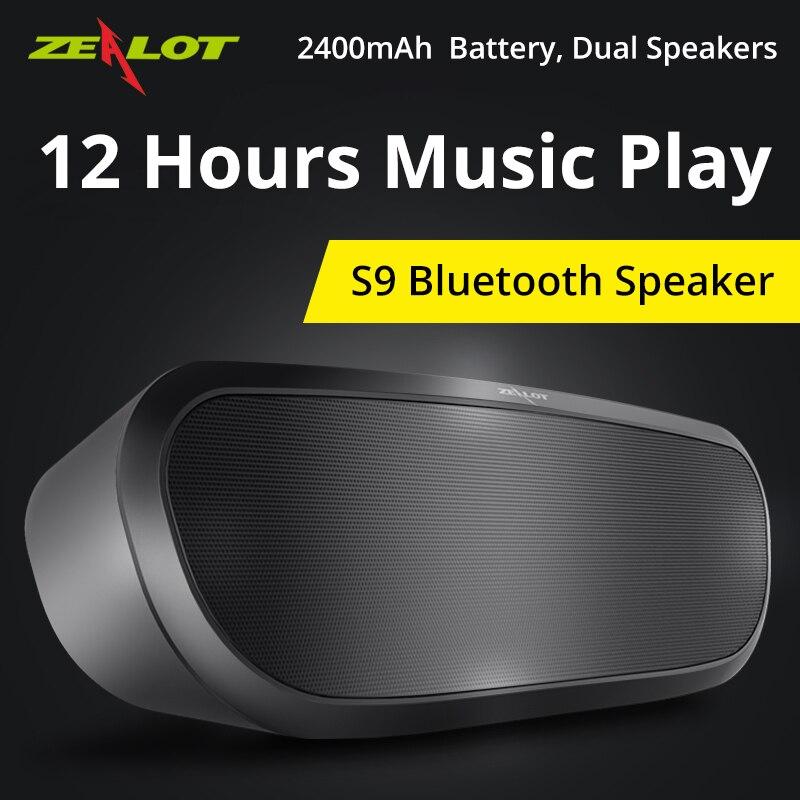 Zealot S9 Prijenosni zvučnik Bežični BluetoothStereo Hifi - Prijenosni audio i video - Foto 3