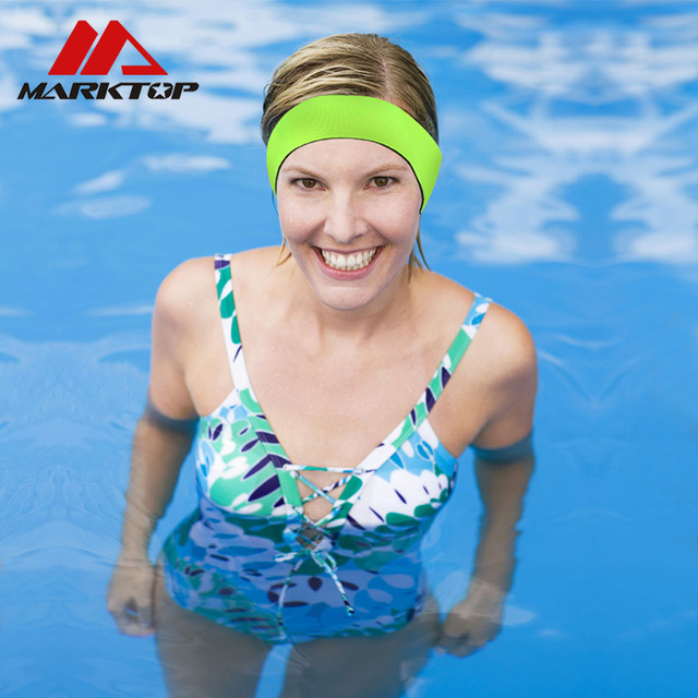 Waterproof Ear Headband Diving Swimming Sports Fitness Exercise Equipment Protect Yoga Hair Band Earplug