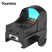 Tactical Red Dot sight Mini Compact Olografico Reflex Micro Red Dot Sight Scope Rifle & Pistol per Airsoft