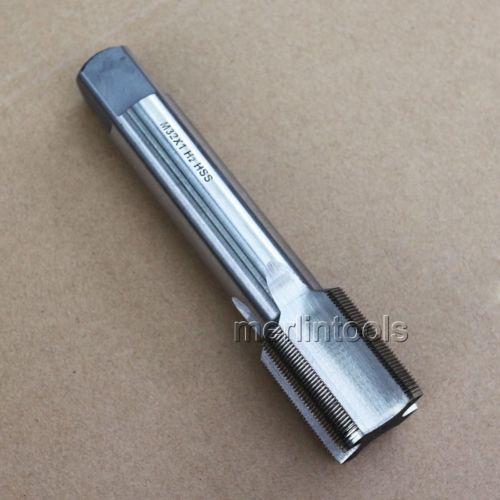 32mm x 1 Metric HSS Right Hand Thread Tap M32 x 1.0mm Pitch Cutting Threading