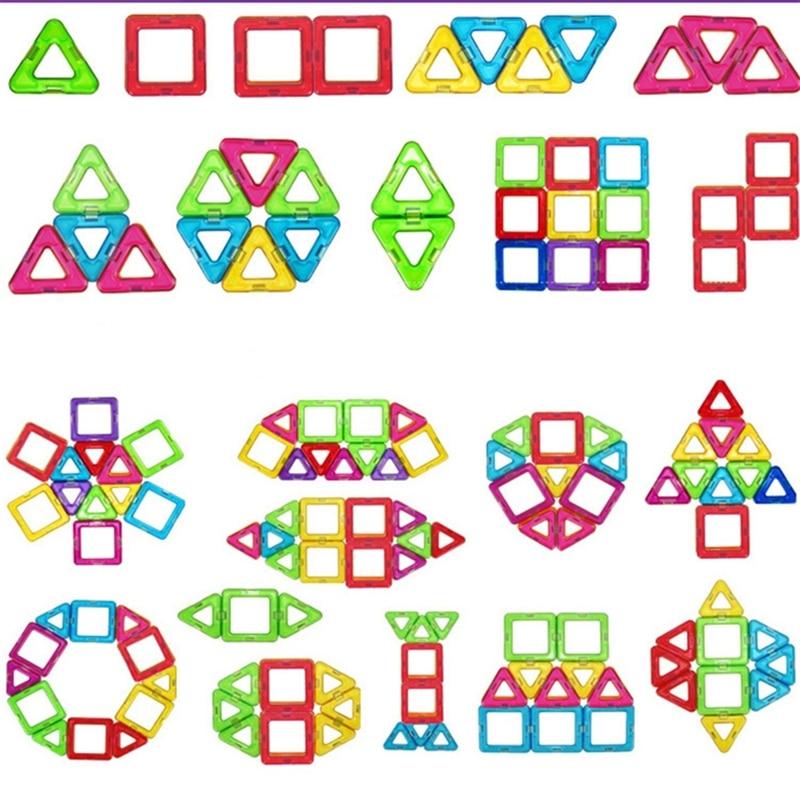 Toys & Hobbies ...  ... 32698319983 ... 3 ... Retail 1pcs Mini Magnetic Designer Toy Kids Educational Toys Plastic Creative Bricks Enlighten Magnetic Building Blocks ...
