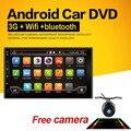 2 din Android 6.0 Автомобиль игрока GPS + Wi-Fi + Bluetooth + Радио + Quad core CPU + DDR3 + емкостный Сенсорный Экран + 3 Г + пк автомобиля + aduio