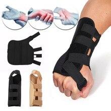 Túnel carpiano de mano derecha izquierda soporte médico para muñeca  almohadillas de apoyo espray antebrazo férula 0b4be9cde384