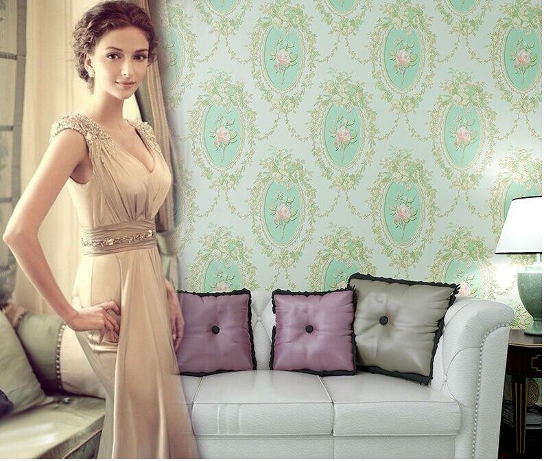 papel de parede floral vintage 3d wallpaper roll living room bedroom ...