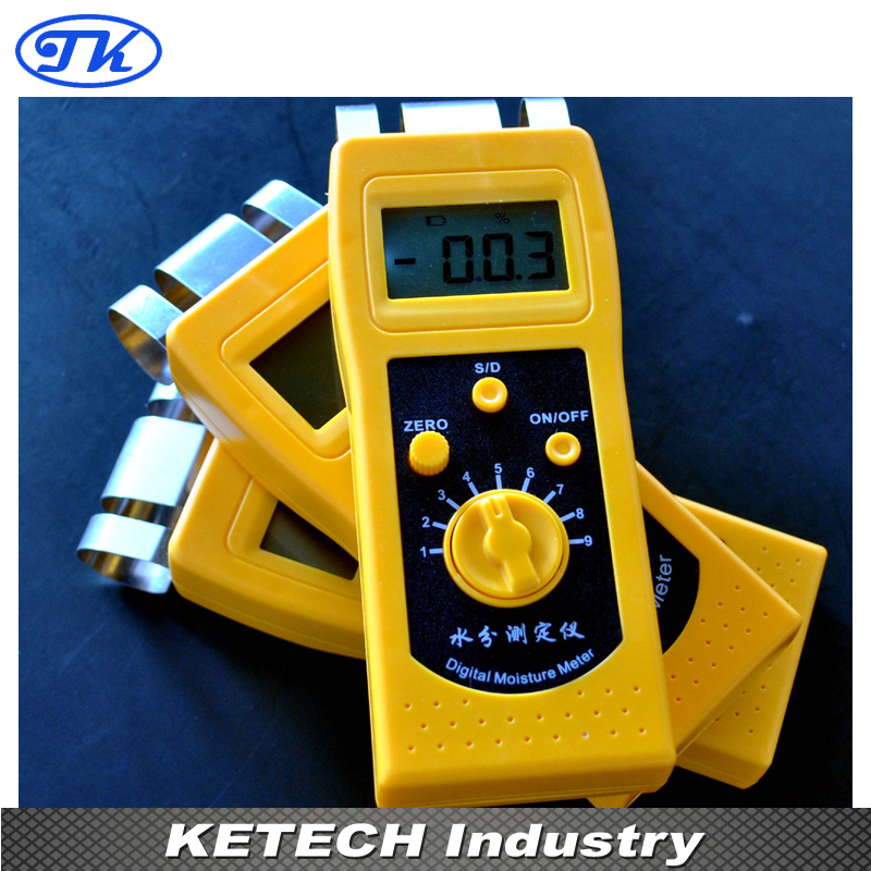 DM200W NEW  Portable Digital Wood Moisture Meter Tester portable pin type wood moisture meter mc7806