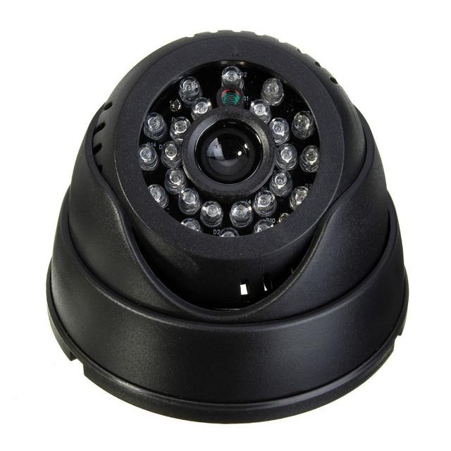 Venta caliente 1/4 ''senor 420tvl cámara de interior del cctv cámara de vigilancia domo sd micro/tf de la visión nocturna dvr