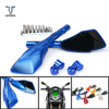 Universal Motorcycle Mirror Rear View Side Mirrors Rearview Mirror For Honda CB CBR 300 599 600