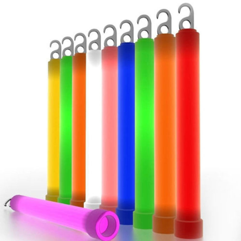 Señal de Emergencia de supervivencia Light Up Glow Sticks Festival Party Decor F