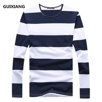 2018 Spring Men S New T Shirts Fashion O Neck Men T Shirt Casual Long Sleeve