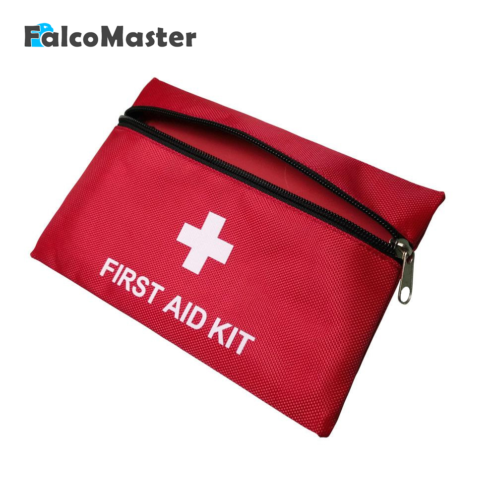 First Aid Survival Wrap Gear Emergency Medical Kits package Empty Oxford Cloth bag 20*14cm for Car Trunk Van Hunt Camp DIY