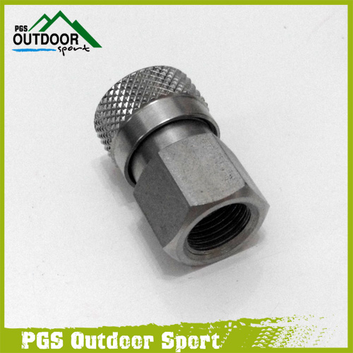 "Image 5 - Paintball PCP Charging Fill Fitting 8mm Copper/Stainless Quick Disconnect Connector 1/8"" NPT Female Socket Realse-in Paintball Accessories from Sports & Entertainment"