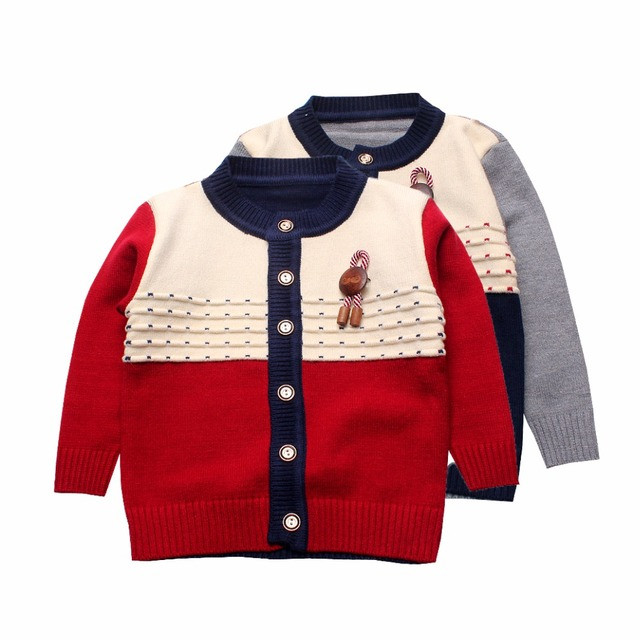 b3098aa8e Soft Boys Sweaters Cardigan Cotton Knit Kids Cardigan Sweaters With ...