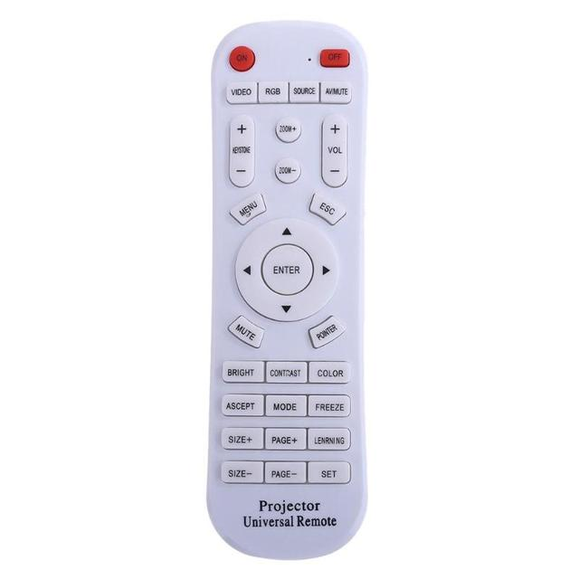 Multifunctional Universal Projector Remote Control Replacement for ThundeaL Vivicine WZATCO Projector Remote