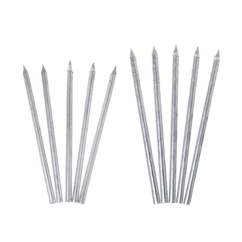 5pcs Professional Tile Cutter Carbide Scriber Cutting Machine Hard Metal Pen Glass Cutting Tool W315