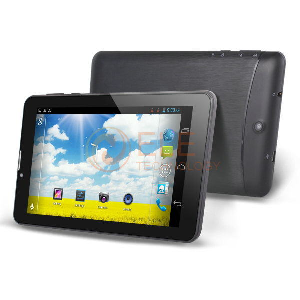 7 inch Domi x5 MTK6572 dual core 512MB RAM 4GB ROM 3G WCDMA phone call GPS bluetooth  capacitive screen calliing tablet pc