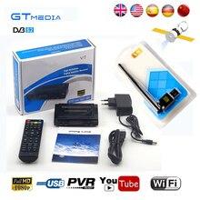 V7 HD DVB-S2 Receptor de Satélite Decodificador + GTmedia GTmedia V8 USB WI-FI HD 1080 p Apoio youtube Powervu Cline 3G Receptor de Satélite
