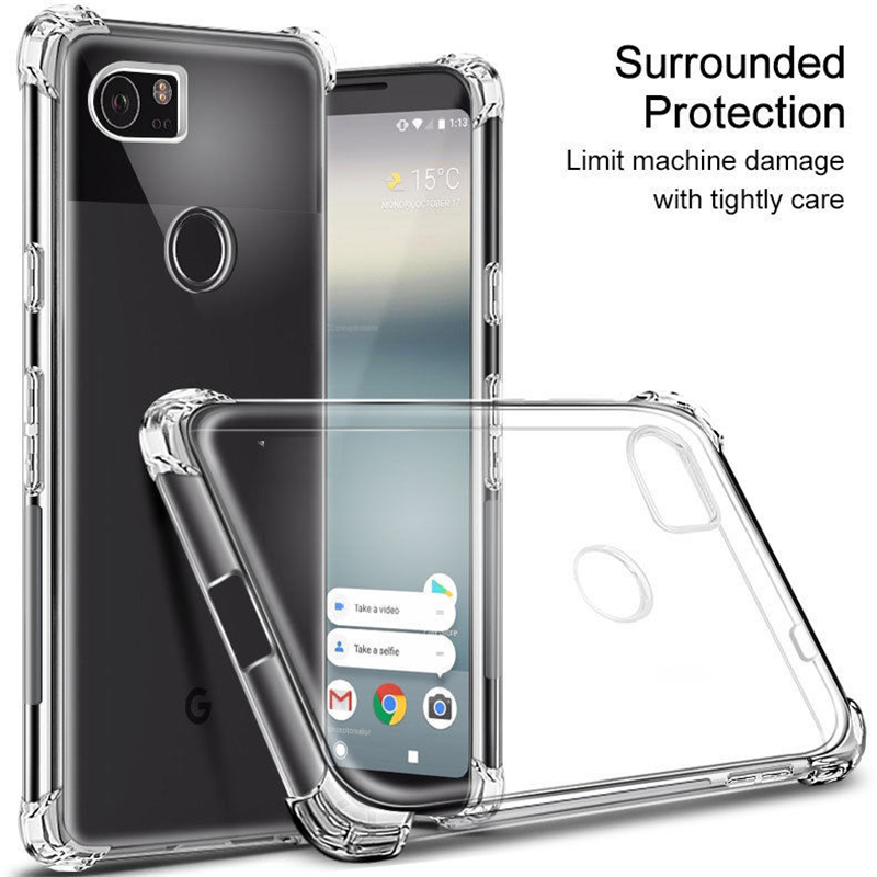 Case For Google Pixel 2 2XL 3 XL Case Airbag Shockproof Soft Silicone Phone Back Cover For Pixel 3XL Nexus S1 M1 XL3 Coque