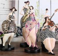 Musician Figurine Creative Abstract Sports Character Modern Sculpture Modern Home Decoration