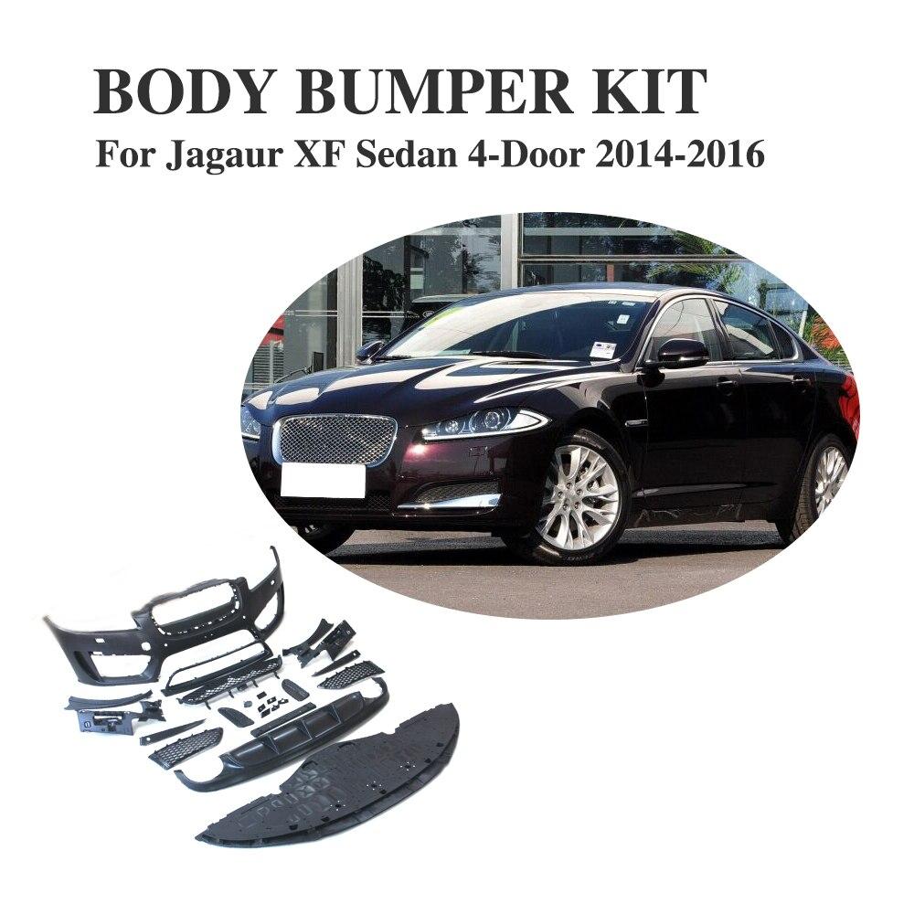 Xf Jaguar For Sale Used: PP Black Auto Bumper Body Kit For Jaguar XF Sedan 4 Door