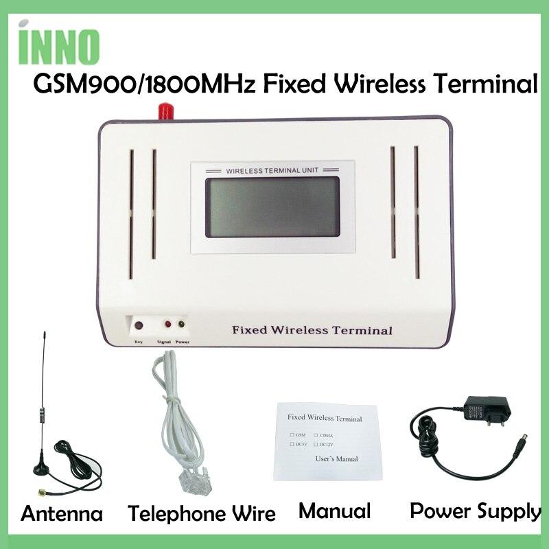 2 шт./лот GSM900/1800 мГц фиксированной беспроводной клеммы LED/ЖК-дисплей подключения настольного телефона, стабильный сигнал