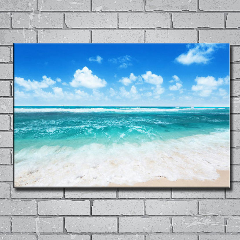 Sea Beach Nature Silk Poster Wall Pictures for Home 24x36 inch Asteroidea Shell