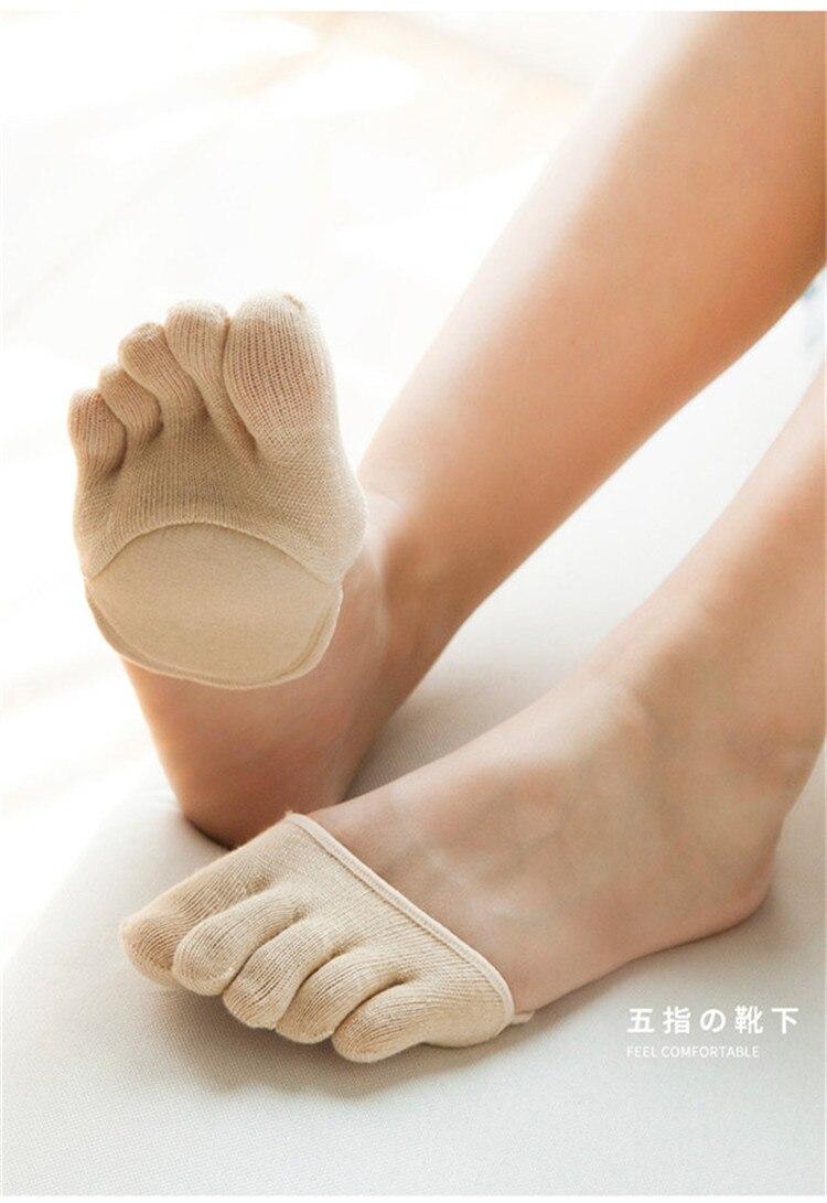 039e39aa72 Detail Feedback Questions about Fluffy Half Palm Open Toe Socks Five ...