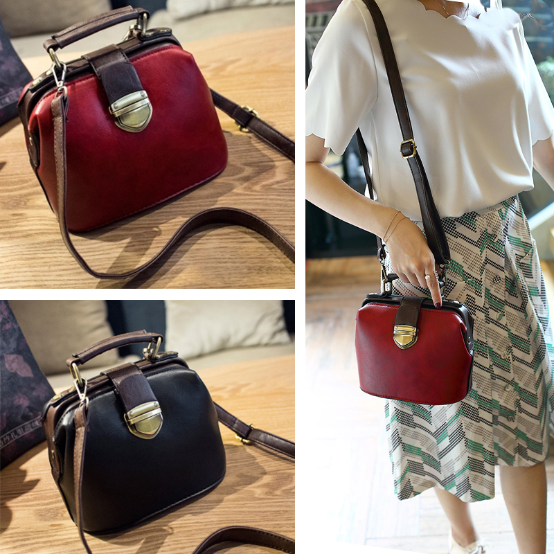 New Brand vintage handbag retro PU leather small flap bags for women messenger bag ladies clutch shoulder bag bolsa termica sac women leather handbag famous brand design boston messenger bag fashion vintage ladies small shoulder bags bolsa 2017 new xa120h
