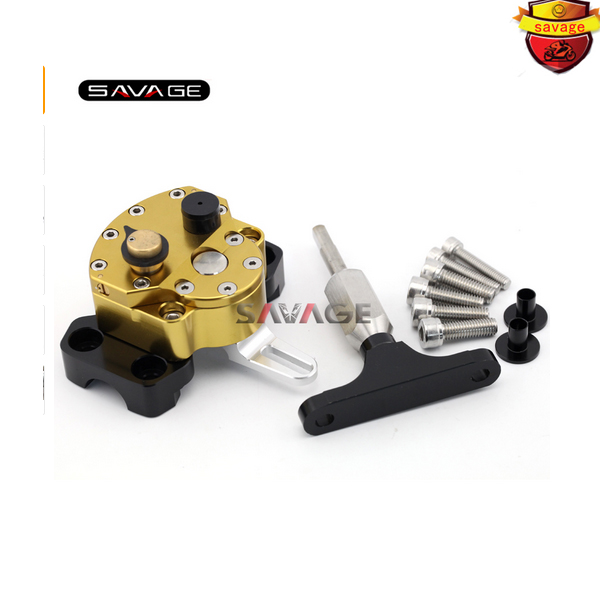 For HONDA CB500F CB500X 2013 2014 2015 Motorcycle Accessories Adjustable Steering Damper Stabilizer with Mount Bracket for ktm 200 duke 2013 2014 390 duke 2014 2015 2016 motorcycle accessories steering damper stabilizer with mounting bracket kit