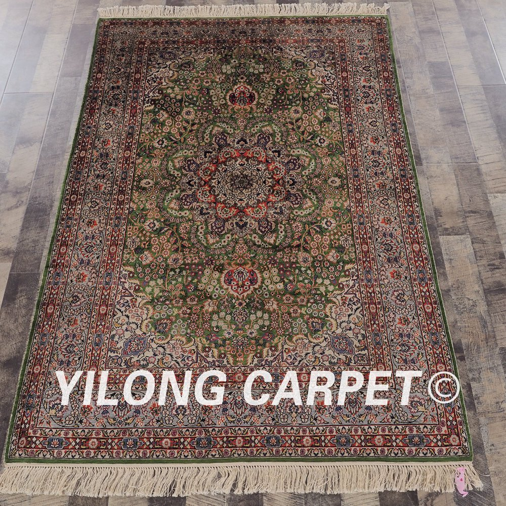 Yilong 4x6 Oriental Sutra Karpet Vantage Medallion Rumah Panda 180 X 250 Ungu Ini Terbuat Dari Halus Ukuran 4ft 6ft 122 Cm 183 P8310553