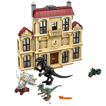 New Jurassic World Dinosaur Indoraptor Rampage Compatible  75930 Building Block Toys Christmas Gift