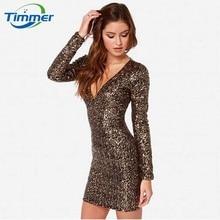 2016 Full Hot Sale Luxury Metallic Sequins V-neck Long Zipper Womens Dresses Slim Vestido Package Hip Pencil Women Summer Dress