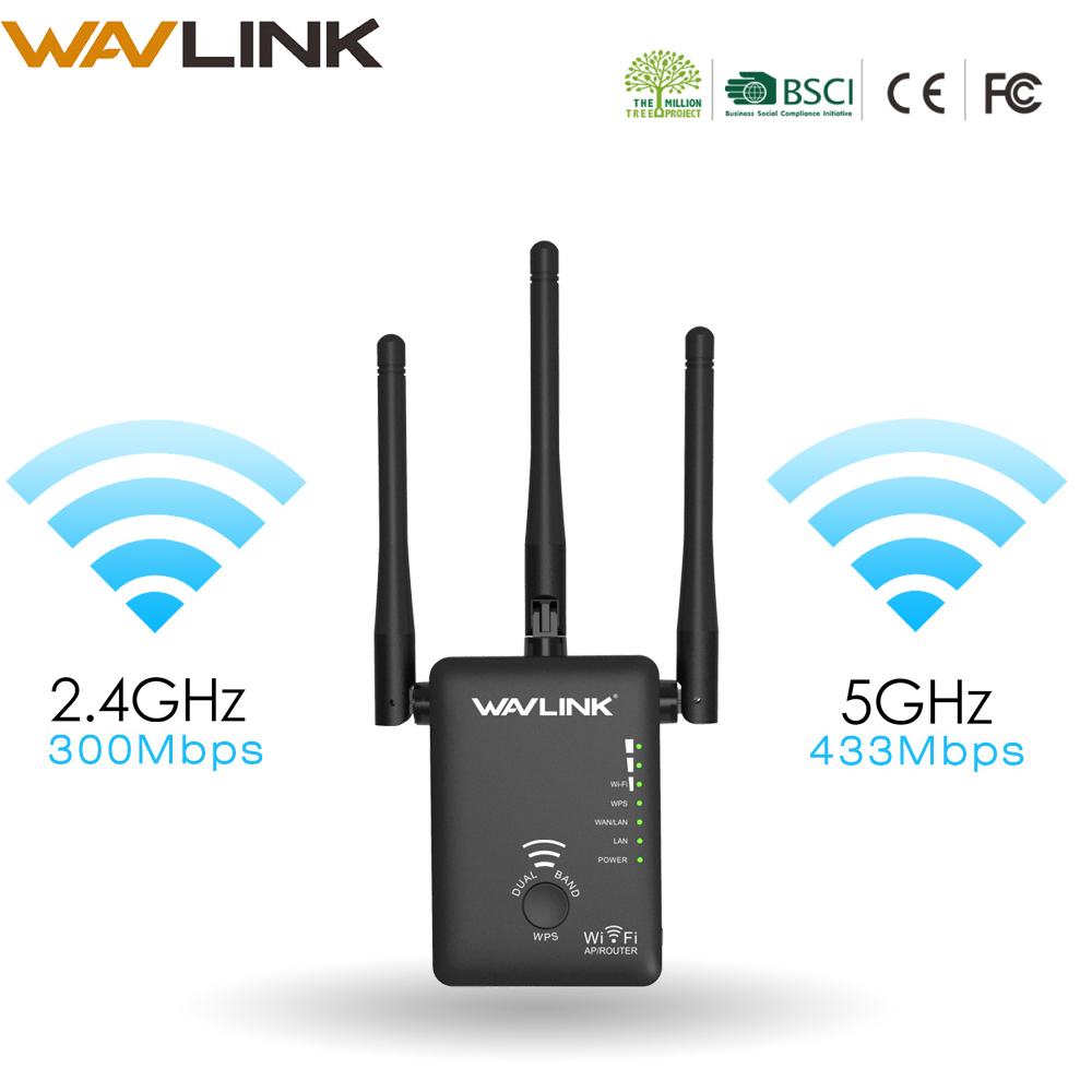Wireless WIFI Repeater/Router Dual Band Wireless Wi-Fi Range Extender wifi signal amplifier Booster with External Antennas WPS wireless router wifi repeater amplifier wi fi router ap 2 4ghz 300mbps wifi range english firmware 4 5dbi high gain antennas wps