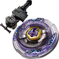 Toupies Beyblade Scythe Kronos Metal Fight 4D Beyblade BB113 + L-R Starter Launcher + Hand Grip + Light Launcher