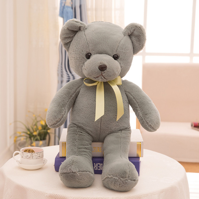 New 35CM Plush Teddy Bear Toys For Boys Stuffed Animals Pet Shop Girls stitch Christmas Gifts One Piece Figure Super Cute