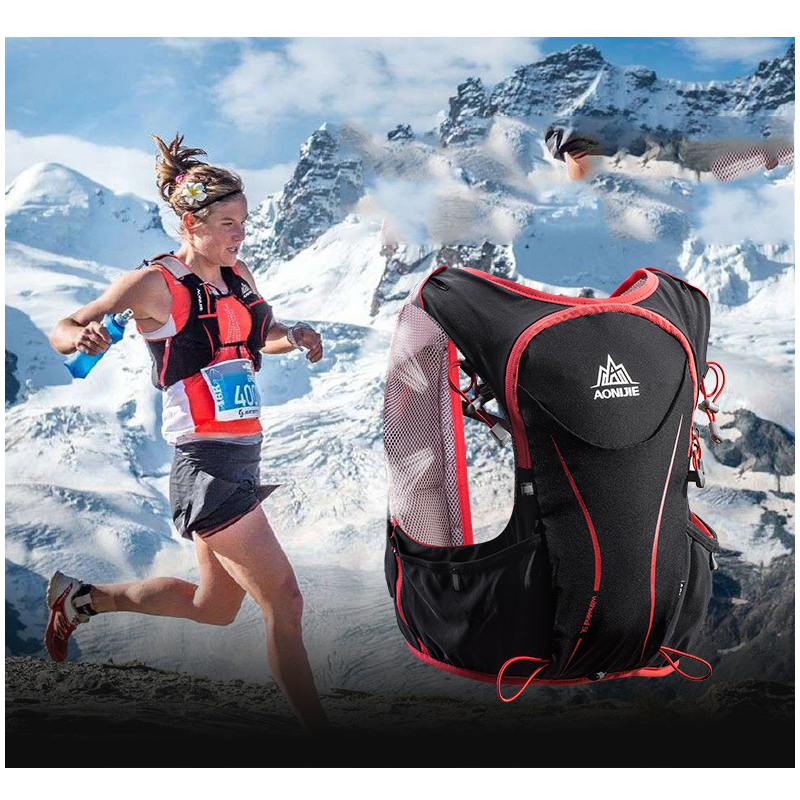 5L Running Bag Backpack Outdoor Sports Vest Super Light Women / Men Hydration Vest Pack for Cycling Climbing Camping Hiking adjustable pro safety equestrian horse riding vest eva padded body protector s m l xl xxl for men kids women camping hiking