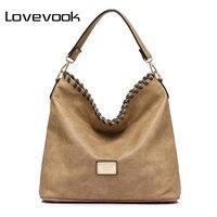 LOVEVOOK Brand Fashion Women Shoulder Bag Female Tote Large Capacity Handbag Famous Brands High Quality Messenger