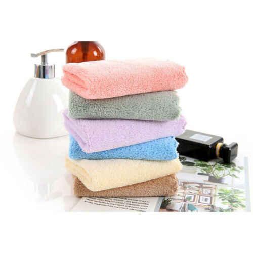 مهدئا منشفة وجهة من الألياف الصغيرة تنظيف غسل القماش اليد مربع منشفة جافة سريعة