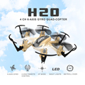H20 mini drone jjrc 2.4g 4ch 6 axis rc helikopter headless modo rtf hexacopter dron quadcopter control remoto toys nano helicópteros