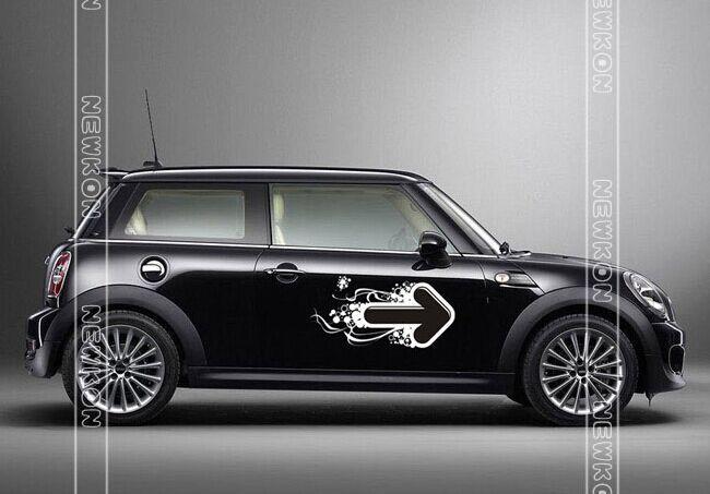 Aliexpress.com : Buy Car Styling Arrowhead Door Stickers
