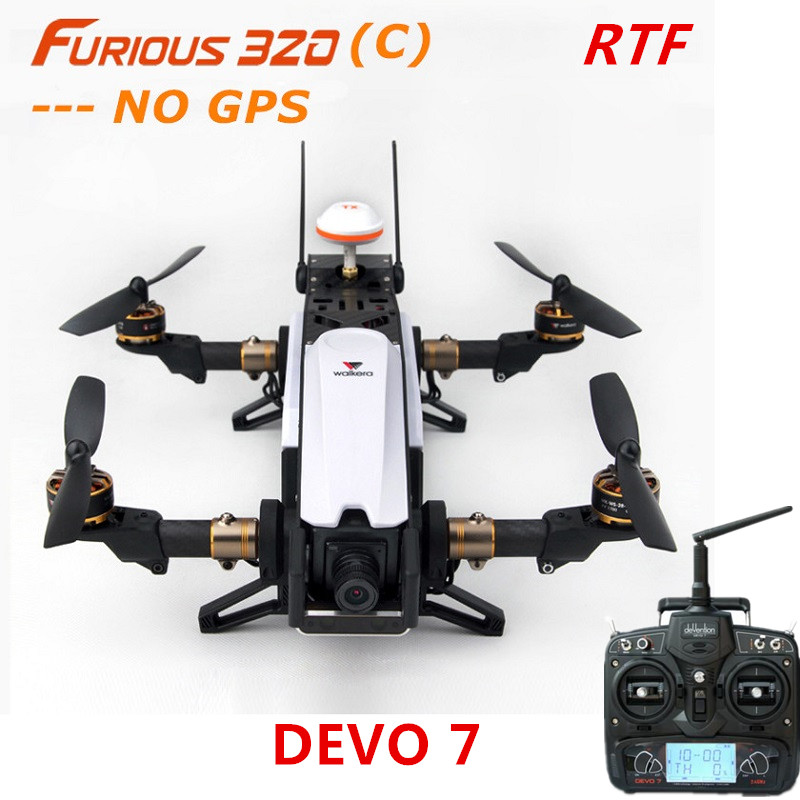 Walkera Furious 320(C) + DEVO 7 Remote Controller RC Racing Drone with 800TVL Camera / OSD ( NO GPS ) RTF