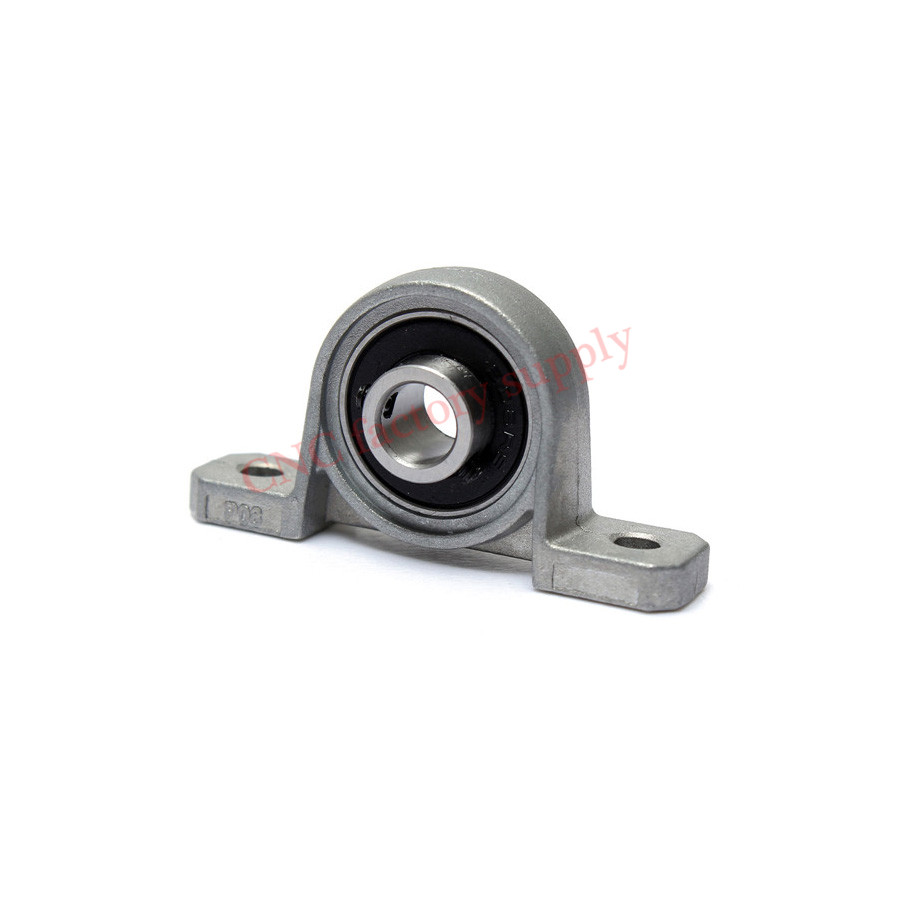 4pcs Zinc Alloy Diameter 8mm Bore Ball Bearing Pillow Block Mounted Support Caliber KP08 KP000 KP001 KP002 KP003 KFL08 KFL000 цена 2017