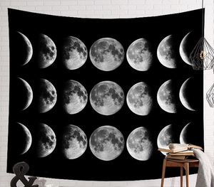 Image 5 - CAMMITEVER Space Starry Sky Starlight Tapestry Wall Hanging Multifunctional Tapestry Boho Printed Bedspread Cover Yoga Mat