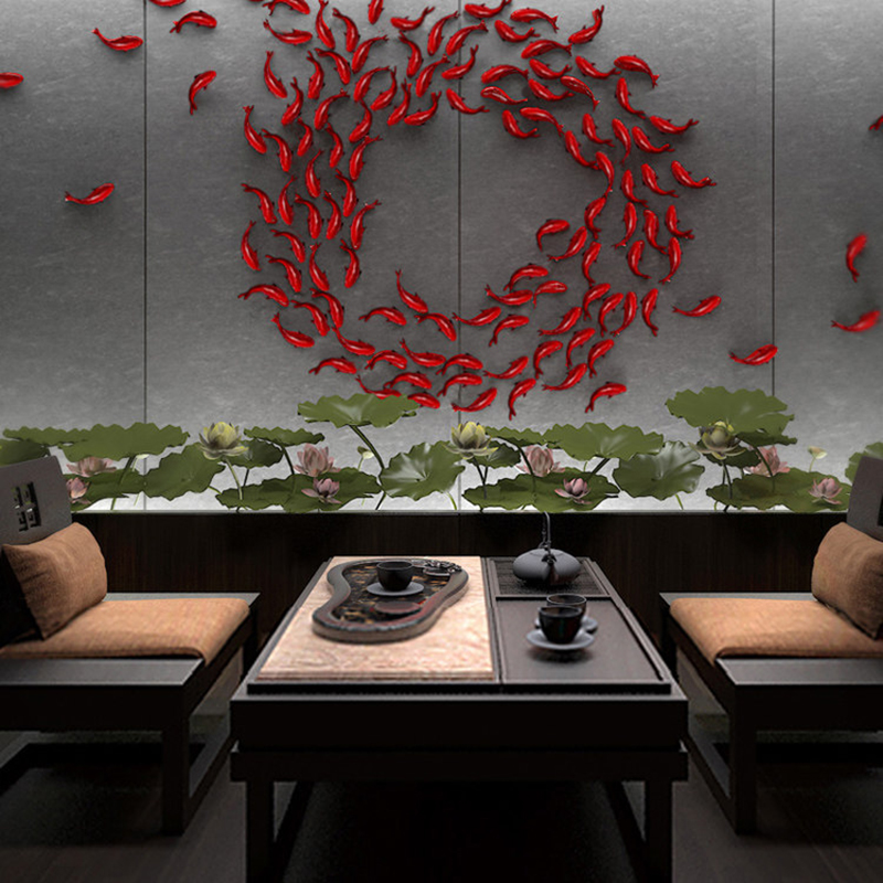 Animal-Ornaments Carp Small Creative Decoration-Decoration Simulation-Of Home-Furnishing