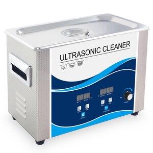 Image 2 - Nettoyeur à ultrasons Portable 4,5l 180W puissance réglable, transducteur ultrasonique, vaisselle, outils de lentilles de laboratoire