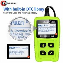 Car Diagnostic Tool JDiag JD101 OM123 OBD2 Automotive Scanner Fault Code Reader