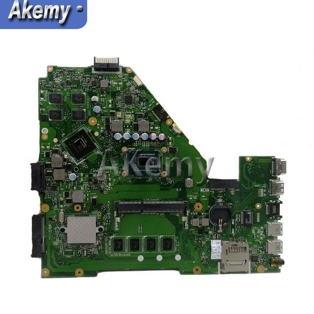 امازون X550CC اللوحة الأم لأجهزة الكمبيوتر المحمول For Asus A550C X550CL R510C اختبار اللوحة الرئيسية الأصلية 4G RAM i7-3520M 2.7 GHZ وحدة المعالجة المركزية GT720M